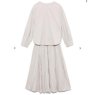 Mila Owen - 新品 ミラオーウェン ワッシャープリーツスカート セットアップ