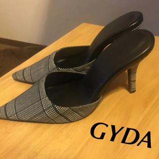 GYDA - 【GYDA】ポインテッドミュール パンプス サンダル Sサイズ