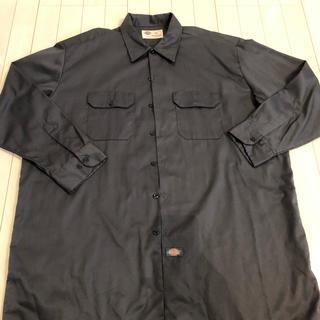ディッキーズ(Dickies)のDICKIES 長袖ワークシャツ 2XL 美品(シャツ)
