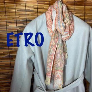 ETRO - エトロ 大判 ペイズリー ストール