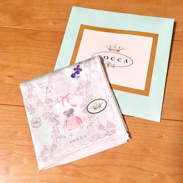 TOCCA(トッカ)のTOCCA 新品 ハンカチ レディースのファッション小物(ハンカチ)の商品写真