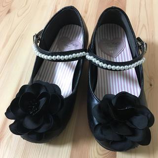 エニィファム(anyFAM)のフォーマルシューズ 黒 18.0センチ 靴 入学式(フォーマルシューズ)