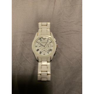 エンポリオアルマーニ(Emporio Armani)の【美品】EMPORIO ARMANI エンポリオアルマーニ  腕時計 セラミカ(腕時計(アナログ))