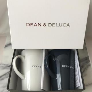 ディーンアンドデルーカ(DEAN & DELUCA)のDEAN&DELUCA ディーン&デルーカ ギフトボックス入りラテマグ2個セット(グラス/カップ)