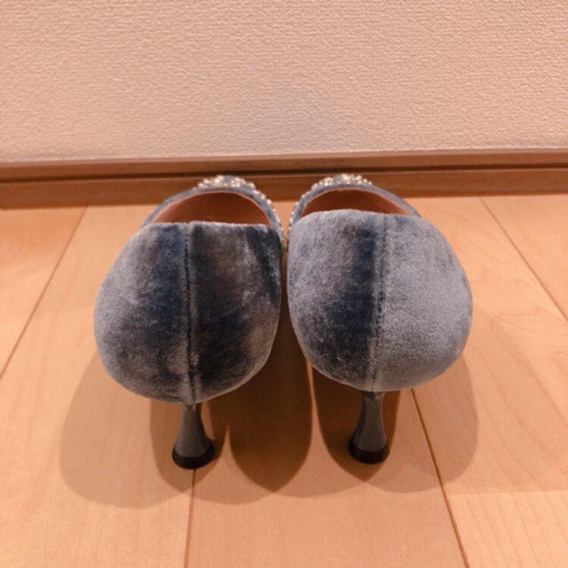 ZARA(ザラ)のZARA ビジュー パンプス 26.5センチ レディースの靴/シューズ(ハイヒール/パンプス)の商品写真