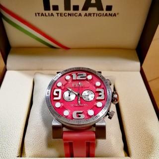 アイティーエー(I.T.A.)の【中古】I.T.A. イタリア製腕時計 B.COMPAX 日本限定色 ベルト新品(腕時計(アナログ))