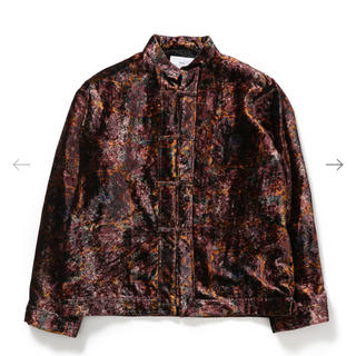 トーガ(TOGA)の新品 TOGA VIRILIS 19AW Velvet print shirt(シャツ)