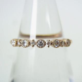 アガット(agete)のAgete/アガット K18 ダイヤモンド リング 7号 [g154-7](リング(指輪))