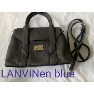 LANVIN en Bleu - 美品!LANVINen blue ショルダーバッグ