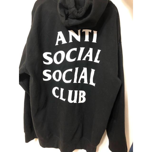 ANTI(アンチ)のANTI SOCIAL SOCIAL CLUB パーカー メンズのトップス(パーカー)の商品写真