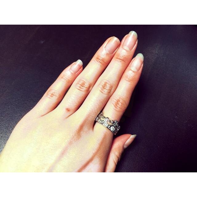 *王冠リング* レディースのアクセサリー(リング(指輪))の商品写真