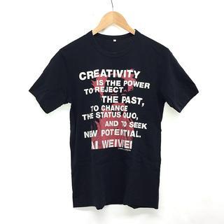 コムデギャルソン(COMME des GARCONS)のコムデギャルソン × アイ ウェイウェイ 半袖 Tシャツ M ブラック 黒(Tシャツ/カットソー(半袖/袖なし))