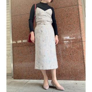 エージーバイアクアガール(AG by aquagirl)のエージー ペイズリージャガードスカート(ロングスカート)