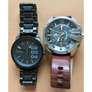 ディーゼル(DIESEL)のディーゼル 腕時計  2本  電池切れ(腕時計(アナログ))