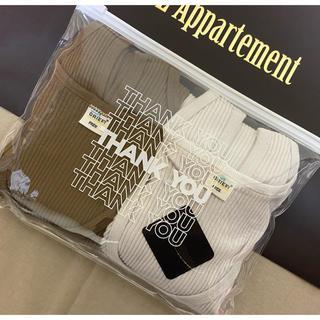 L'Appartement DEUXIEME CLASSE - 新品未使用☆アパルトモン☆ 【GOOD GRIEF】RIB TANK TOP