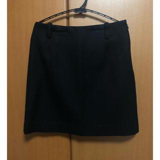 クイーンズコート(QUEENS COURT)のクイーンズコート 黒ミニタイトスカート(ミニスカート)