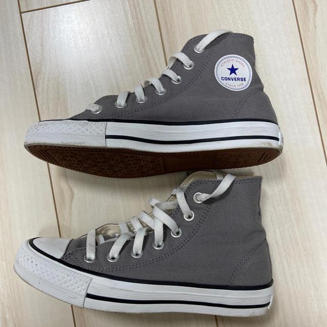 CONVERSE(コンバース)のコンバース グレー 22.5cm レディースの靴/シューズ(スニーカー)の商品写真
