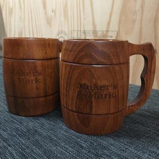 サントリー - メーカーズマーク 木製 ジョッキ マグ Makersmark Mug