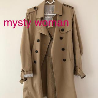 mysty woman - mysty woman トレンチコートM