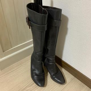 ブリジットバーキン(Bridget Birkin)のブリジットバーキン 本革ロングブーツ 23.5(ブーツ)
