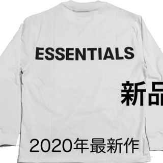 FEAR OF GOD - 値下げ交渉OK FOG essentials ロンT 新品 エッセンシャルズ