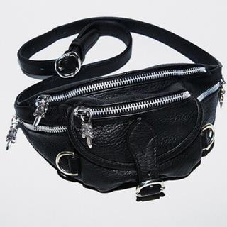 Chrome Hearts - CHROME HEARTS MINI SNAT BAG BLACK