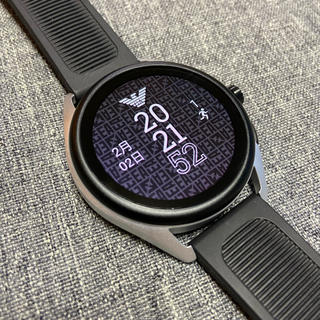 Emporio Armani - エンポリオ アルマーニ スマートウォッチ タッチスクリーン 腕時計 メンズ