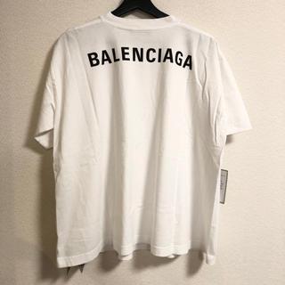 Balenciaga - 新品 100%本物 balenciaga バッグロゴ Tシャツ バレンシアガ