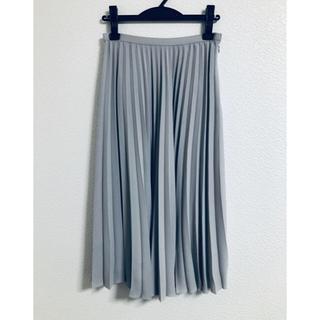 NATURAL BEAUTY BASIC - ナチュラルビューティーベーシック ジョーゼットプリーツスカート