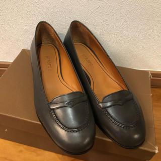 HIROFU ローファー 23.5(ローファー/革靴)