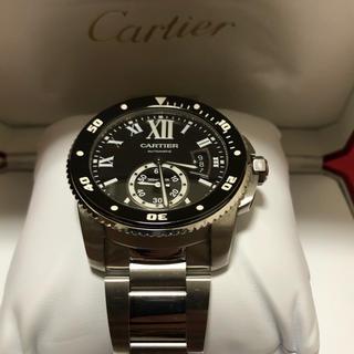 Cartier - カルティエ  カリブル ダイバーベルト完全品 W7100057