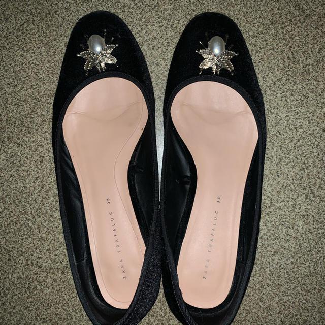 ZARA(ザラ)の【鹿子様専用】パンプス🥿 レディースの靴/シューズ(ハイヒール/パンプス)の商品写真