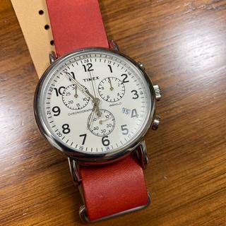 TIMEX タイメックス 時計 2P71400 クロノグラフ  本体ホワイト