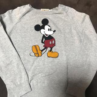 ディズニー(Disney)のミッキー薄手セーター 140(ニット)