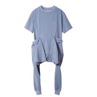 ルシェルブルー(LE CIEL BLEU)のIrene アイレネ waist cloth tee(Tシャツ(長袖/七分))