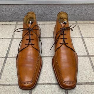 リーガル(REGAL)のCARIO BOTRINI カルロボットリーニ 革靴 ショートブーツ(ブーツ)