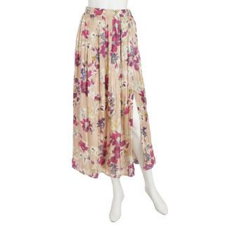 MERCURYDUO - 定価¥17,280 Mercuryduoシャイニーサテンフラワープリントスカート