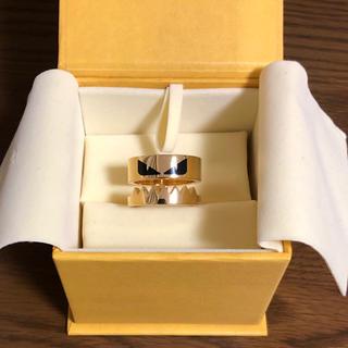 フェンディ(FENDI)のFENDI モンスターリング ゴールド Sサイズ(リング(指輪))