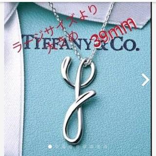 Tiffany & Co. - ティファニー ビックサイズ ネックレス イニシャルY
