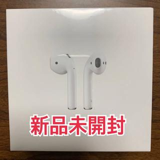 アップル(Apple)のApple airpods 第2世代 エアーポッズ新品未開封 MV7N2J/A(ヘッドフォン/イヤフォン)