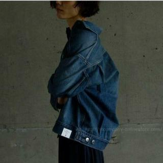 HYKE - HYKE DENIM JACKET TYPE2(BIG FIT)