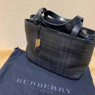 BURBERRY - BURBERRY バーバリー バッグ ハンドバッグ トートバッグ 袋付き