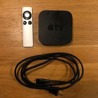 Apple - Apple TV アップル A1378 本体・コード・リモコン