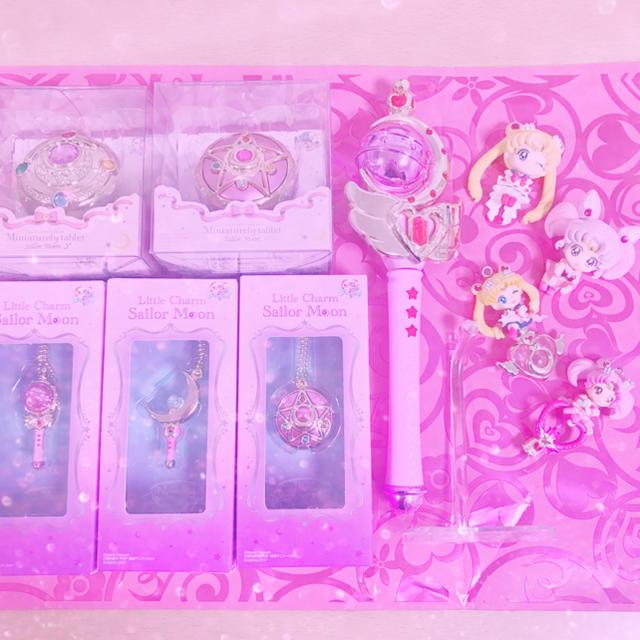 セーラームーン(セーラームーン)の新品未使用♡セーラームーン10点セットセーラーちびムーン エンタメ/ホビーのおもちゃ/ぬいぐるみ(キャラクターグッズ)の商品写真