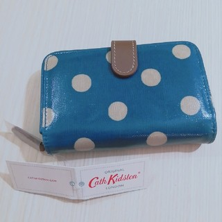 Cath Kidston - キャスキッドソン Cath Kidston 水玉柄二つ折り財布 新品