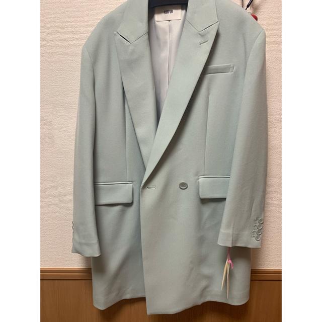 fur fur(ファーファー)のダブルロングテーラードジャケット レディースのジャケット/アウター(テーラードジャケット)の商品写真