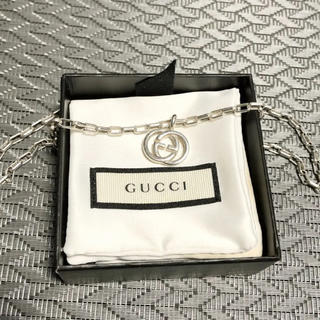 Gucci - GUCCI シルバーチェーンネックレス