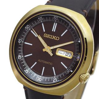 セイコー(SEIKO)のセイコー SEIKO腕時計 メンズ SRPC16J1自動巻き ブラウン ブラック(腕時計(アナログ))