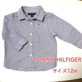 トミーヒルフィガー(TOMMY HILFIGER)のTOMMY HILFIGER トミーヒルフィガー 卒園式 入園式 サイズ12m (シャツ/カットソー)