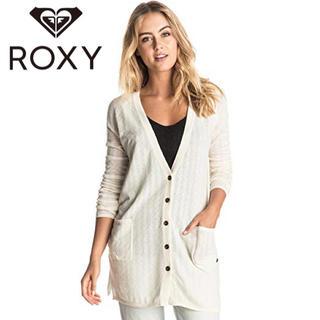 ロキシー(Roxy)の新品⭐︎ROXY ロングカーディガン BELLE ISLE(カーディガン)